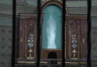 virgen que aparecio en una iglesia en argentina
