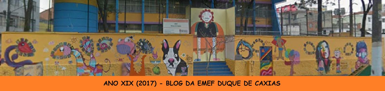 BLOG DA EMEF DUQUE DE CAXIAS