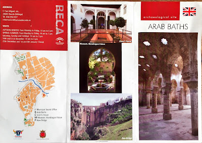 Arab Baths brochure