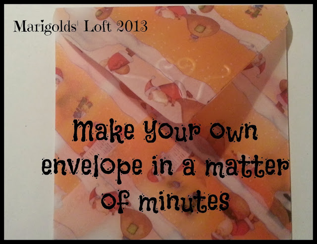 make a unique envelope in minutes