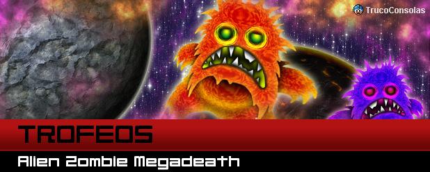 Trofeos Alien Zombie Megadeath