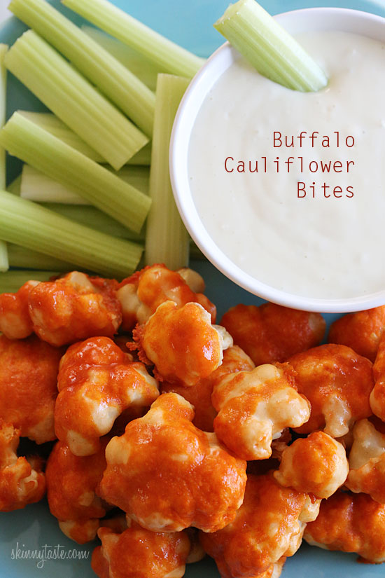 Buffalo Cauliflower Bites Spicy Buffalo Cauliflower Bites