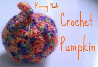 halloween crafts: crochet pumpkins