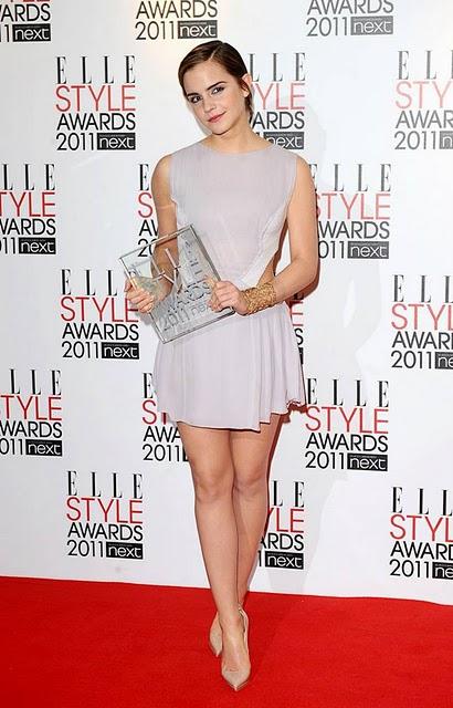Actress Emma Watson at Elle Style Awards 2011 | Emma Watson