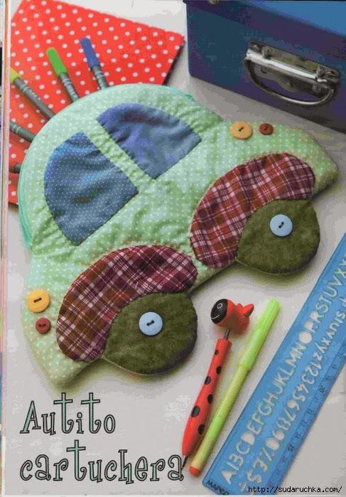 Поделки и игрушки  из ткани  /  toys fabric