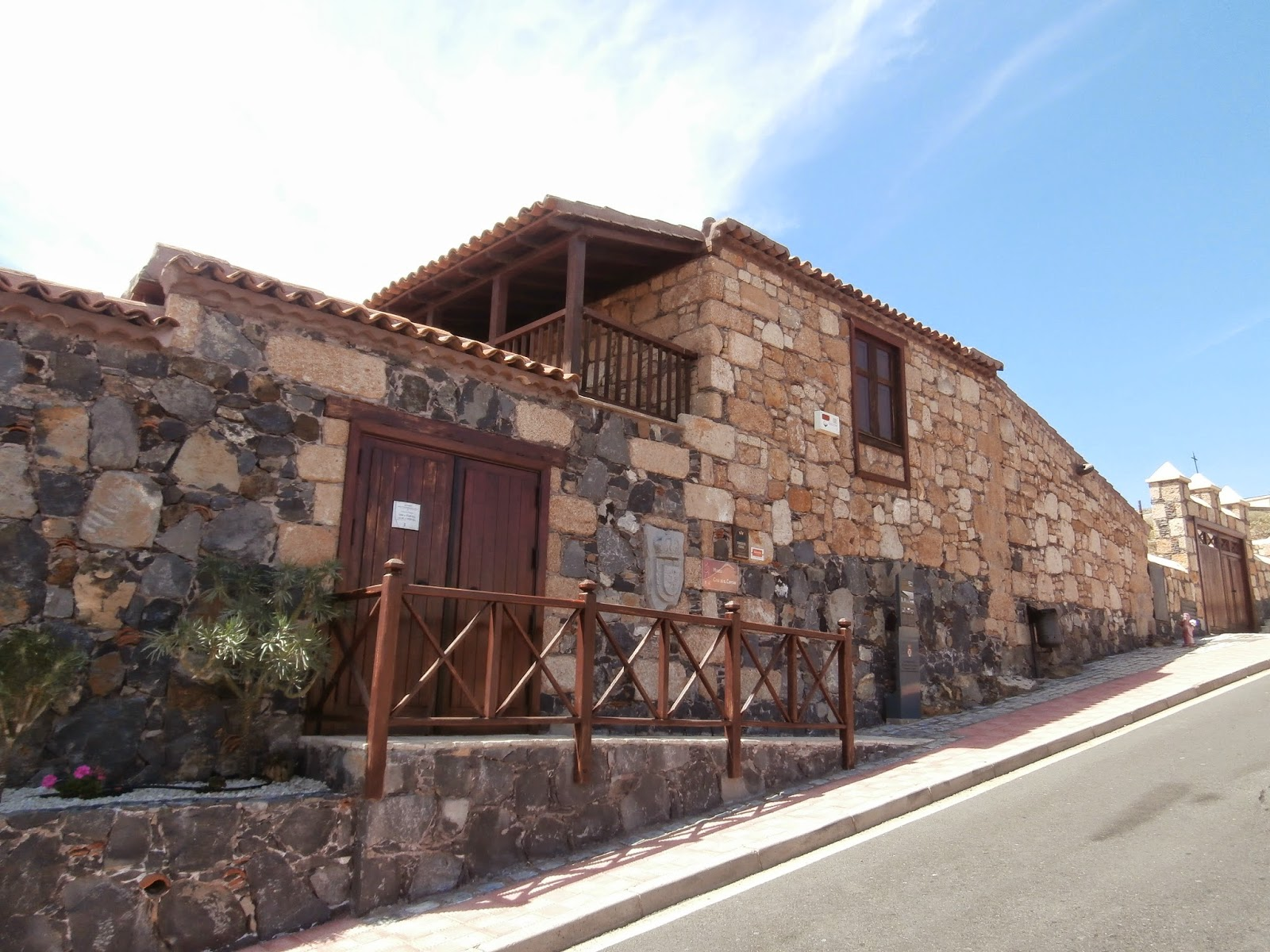 Museo Casa de El Capitán, en San Miguel de Abona. | Más hacia el Sur