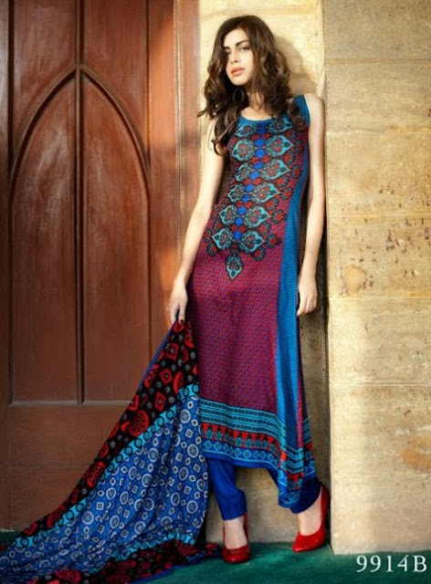 Dresses Collection 2013-2014 | Latest Riwaj Beautiful Dresses Collection 2013-2014 Vol 3 By Shariq Textile