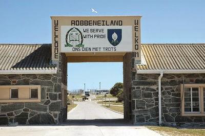 Robben Island, Nelson Mandela fængsel, Sydafrika
