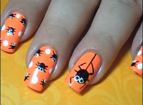 Halloween Easy Nail Art Video Tutorials 2 | FASHION WORLD