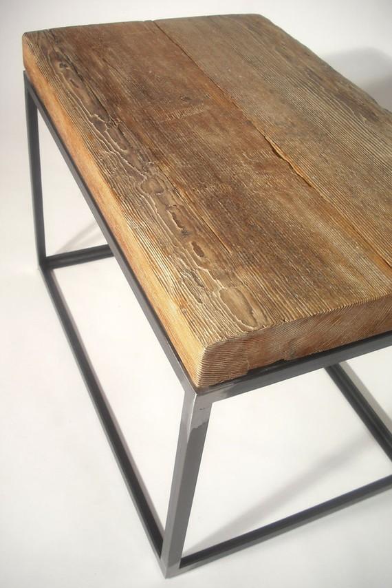 La f brica de p jaros madera hierro la combinaci n perfecta for Muebles industriales madera y hierro
