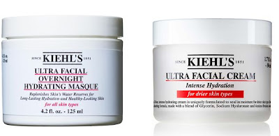 Kiehl's, Kiehl's Ultra Facial Overnight Hydrating Masque, Kiehl's Ultra Facial Cream Intense Hydration, skin, skincare, skin care, mask, face mask, overnight face mask, moisturizer, face cream, face lotion, hydration, winter skin, winter skincare tips