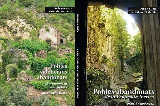 Comprar i presentacions llibres 'Pobles valencians abandonats' i 'Pobles abandonats Península'
