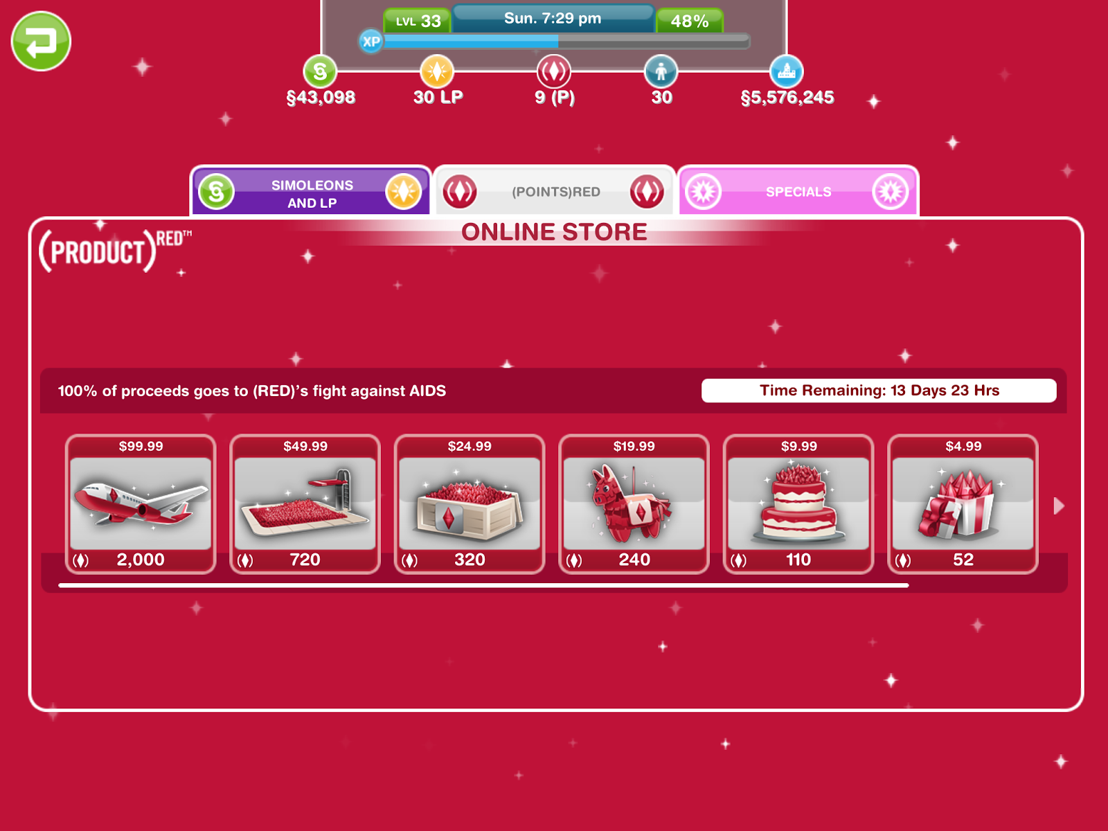 Missy39s Sims And Stuff The Sims Freeplay RED Flowers Of Sim