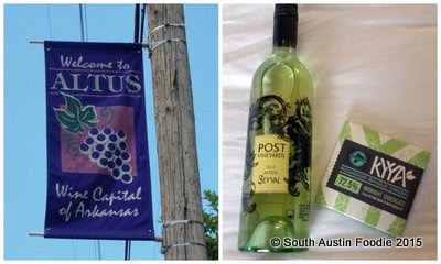 Altus Wine Capital of Arkansas Post Familie Wine