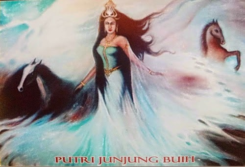 Legenda Junjung Buih Ratu Penguasa Laut Lokasi Jatuhnya AirAsia QZ 8501