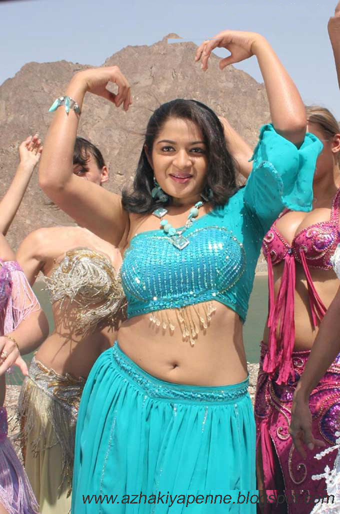 Malayalam Actress Hot Karthika Navel Show