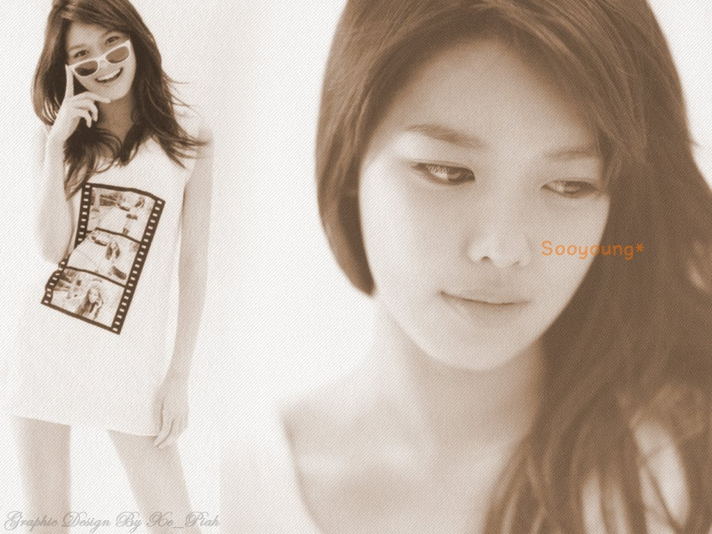 SooYoung SNSD Stylish Wallpaper   SNSD Artistic Gallery