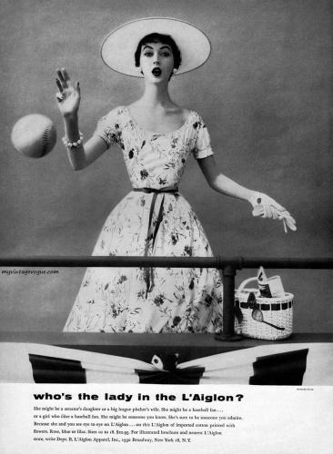1950s L'aiglon ad Just Peachy, Darling