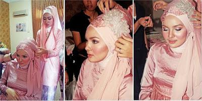 Tutorial Hijab Untuk Pernikahan yang Simple