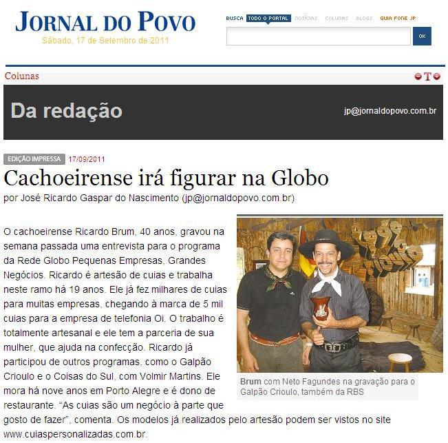 Jornal do Povo - Cachoeira do Sul - RS