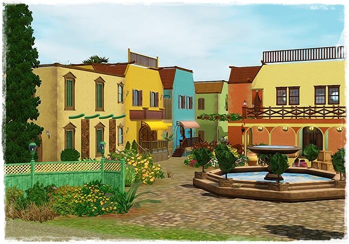 My sims 3 blog monte vista remastered by melissa nocc for Montevista com