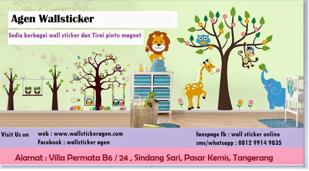 supplier -agen - grosir wallsticker