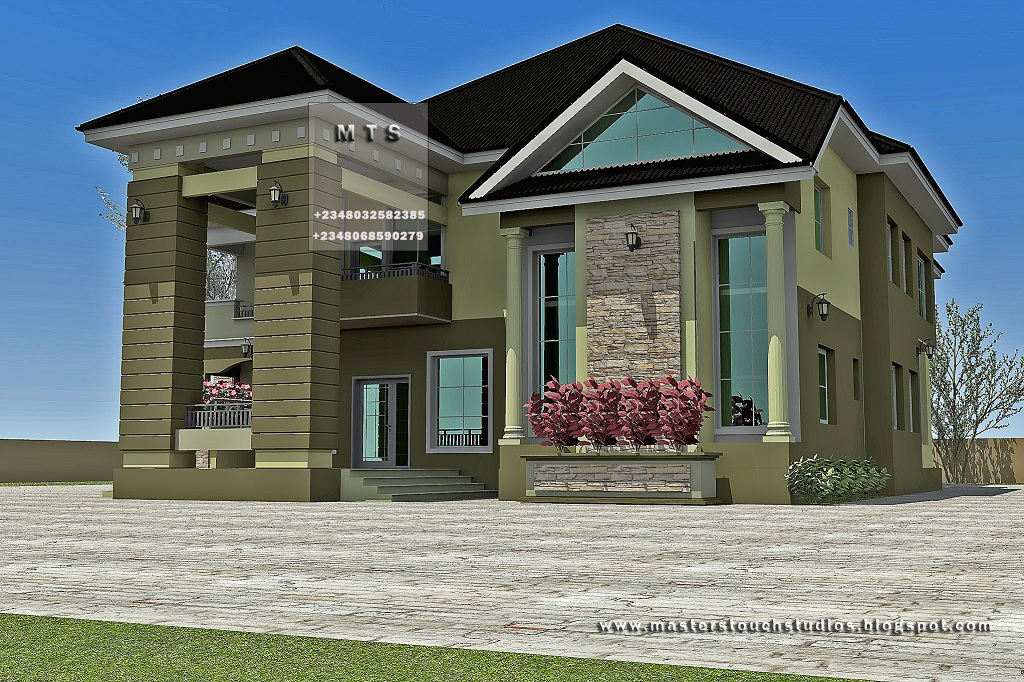 Duplex house design pictures in nigeria house plan 2017 for Modern duplex house designs in nigeria
