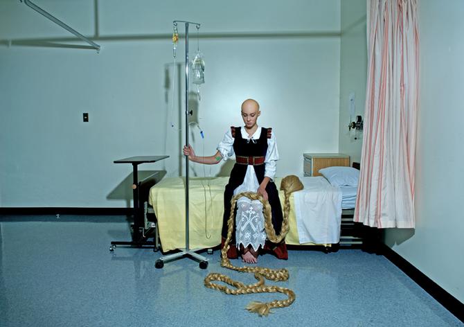 Dina Goldstein. Fallen Princesses