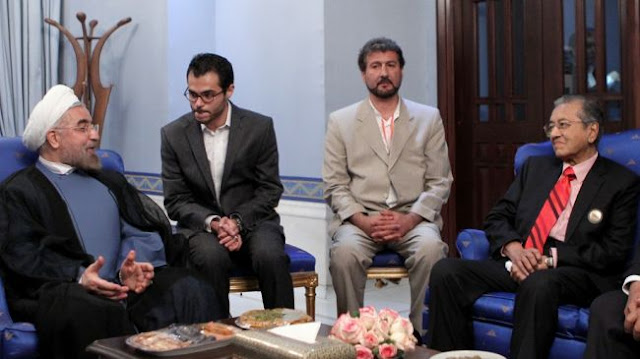 Presiden baru Iran bertemu Tun Mahathir di Tehran