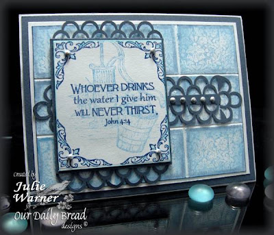 "Our Daily Bread designs ""Never Thirst"" Designer Julie Warner"