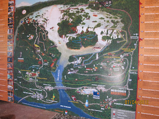 Iguazu Falls – Trail Map Iguazu National Park Argentina