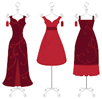 three red dresses for Women Go Red
