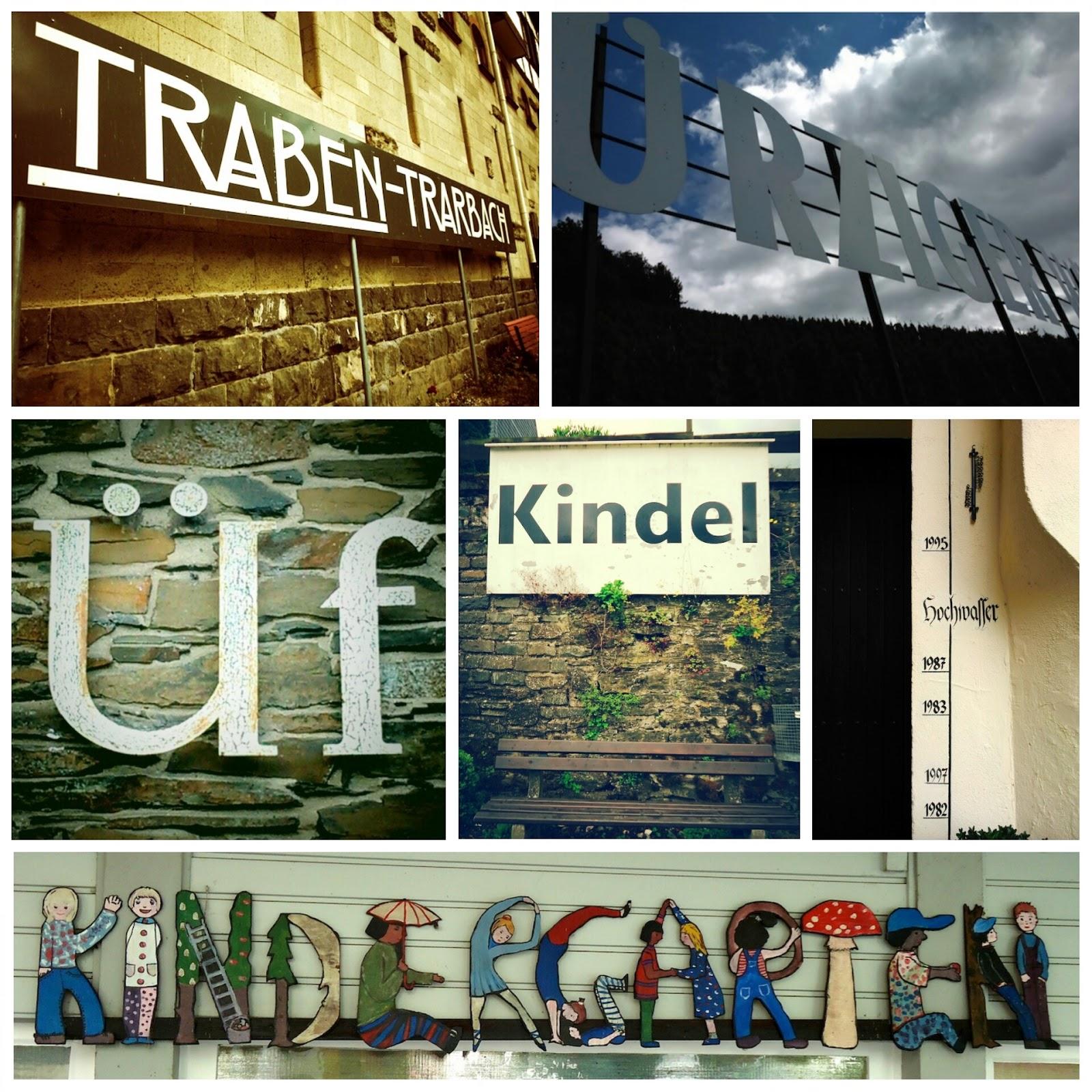 Rhineland-Palatinate signage