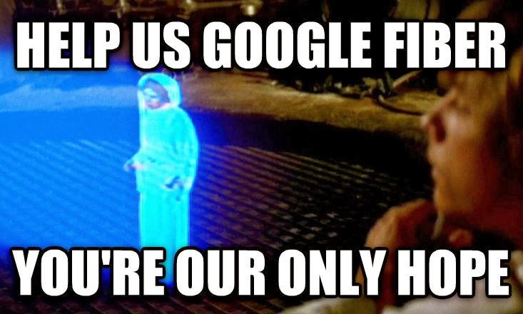 Google Fiber meme