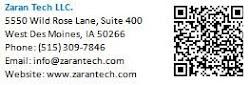 Contact Zaran Tech LLC
