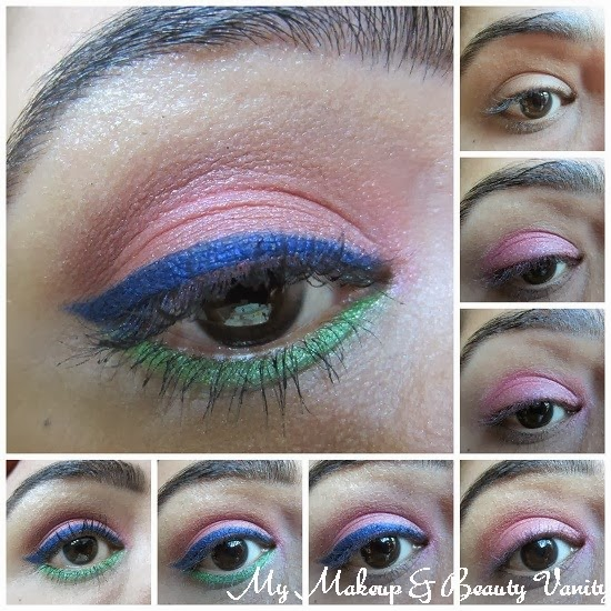 Eye-Makeup-Look-Smokey-Pink-Eyes+how to do smokey eyes+easy smokey eye tutorial