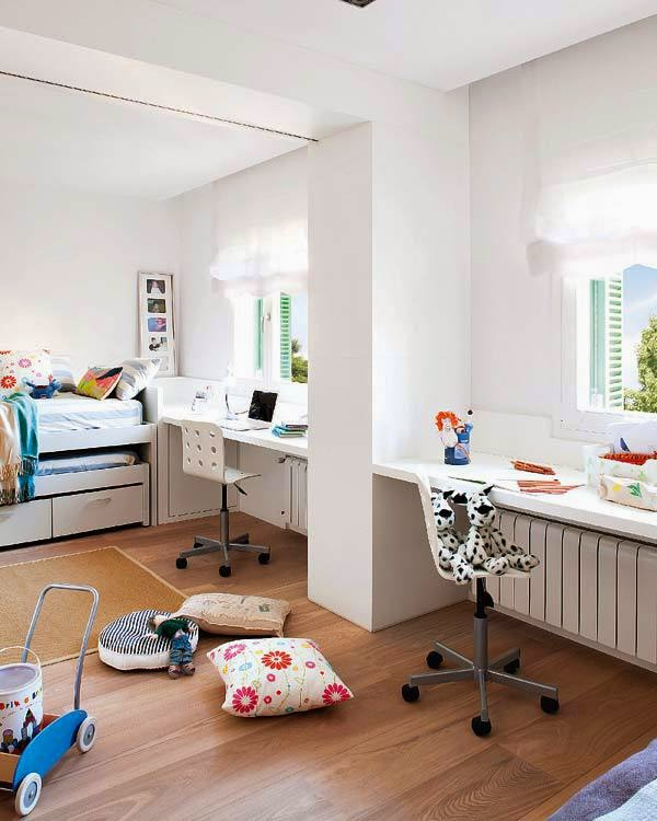 Design dla dzieci i nie tylko wsp lny pok j dla for Habitaciones comunicadas