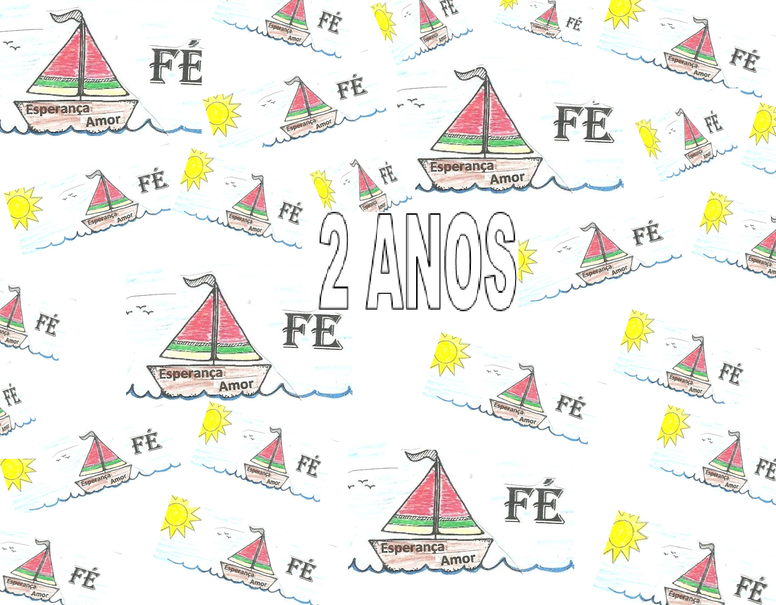 "2 ANOS do Blog ""BOTE FÉ""!"