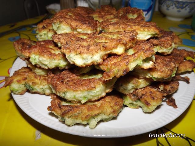 оладушки кабачки