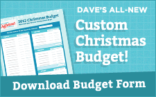free dave ramsey christmas budgeting form queen of free