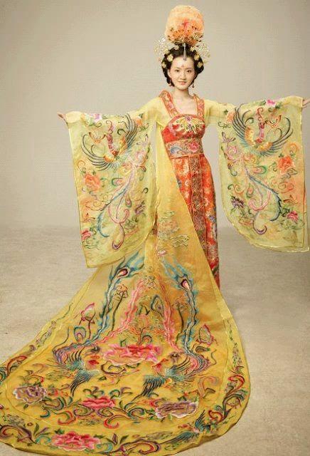 Mocha San S Art Diary Chinese Amp Japanese Traditional Clothing