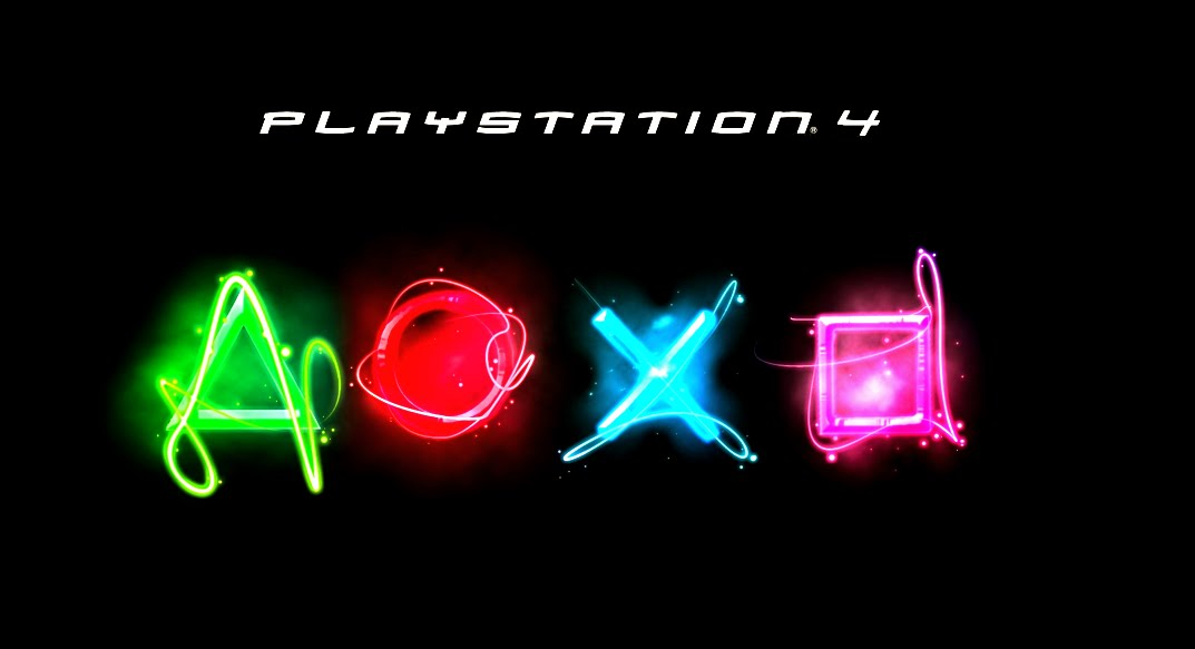 PS4 Logo Wallpaper