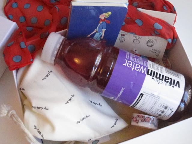 My little color box - little box octobre 2012 contenu