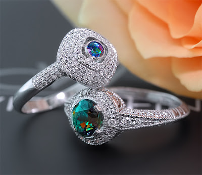 David Wein Alexandrite Rings