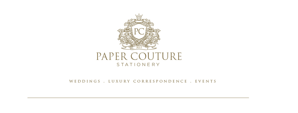 Paper Couture Stationery