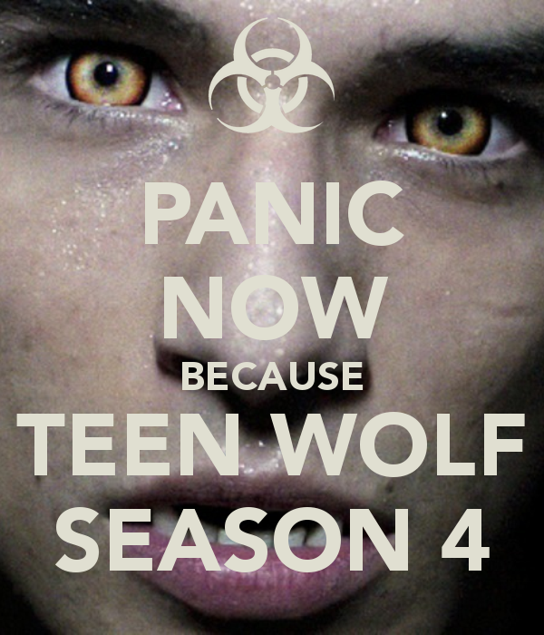 Teen wolf Temporada 4 audio español