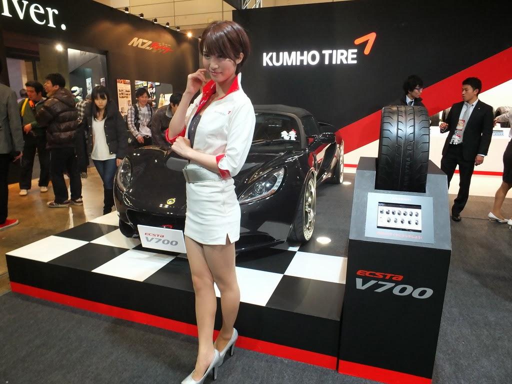 kumho tires tokyo auto salon 2014
