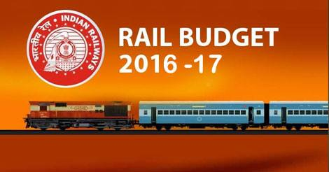 Ministry of Railways Rail Budget 2016