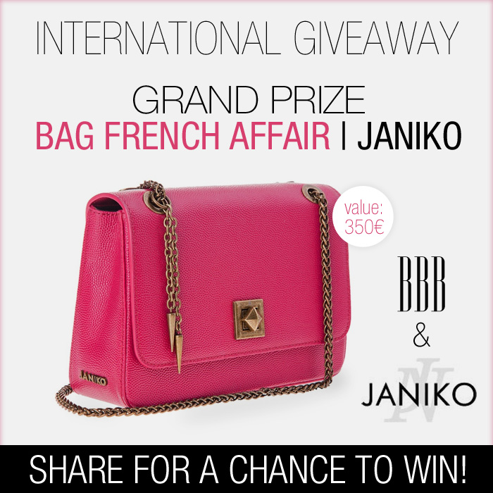 Win, Giveaway, Janiko, Bag, Alison Liaudat, bangbangblond, blog mode suisse, fashion blog