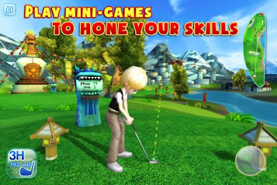 Let's Golf! 3 for both iPhone and iPad By Gameloft